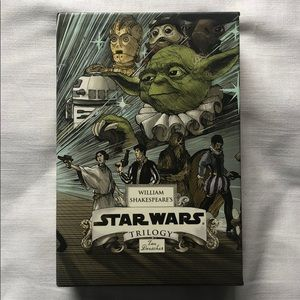 Star War's Trilogy books in Shakespeare